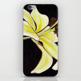 Small Lily iPhone Skin