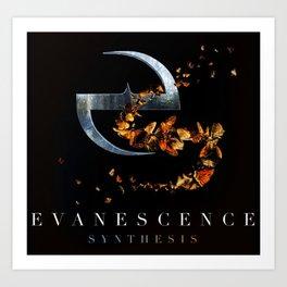 DESIGN EVANESCENCE NEW TOUR DATES 2019 SEMANGAT BERJUANG Art Print