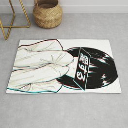 LOVE - SAD JAPANESE ANIME AESTHETIC Rug