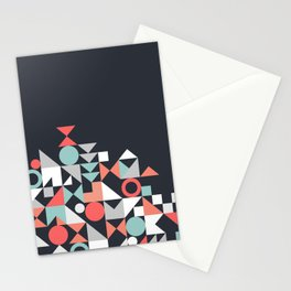Modern Geometric 30 Stationery Cards