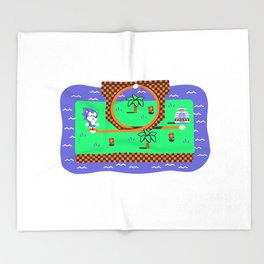 Overworld: Loop Throw Blanket