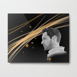 I fall in love just a little, oh a little bit every day with someone new Metal Print