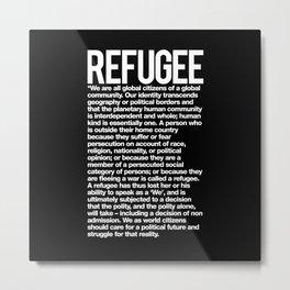 Refugee Metal Print