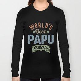 World's Best Papu Long Sleeve T-shirt