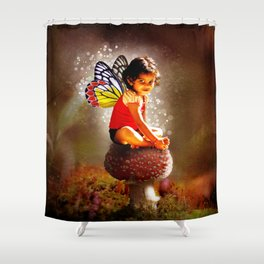 Indy Fairy Shower Curtain