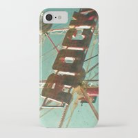 rock and roll iPhone & iPod Cases featuring Rock and Roll by Cassia Beck