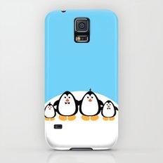 NGWINI - penguin family snow hill Galaxy S5 Slim Case