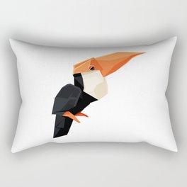 Origami Toucan Rectangular Pillow