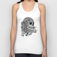 carpe Tank Tops featuring Carpe Noctem (Seize the Night) by Rachel Caldwell