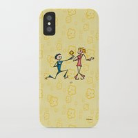lovers iPhone & iPod Cases featuring Lovers by Giuseppe Lentini