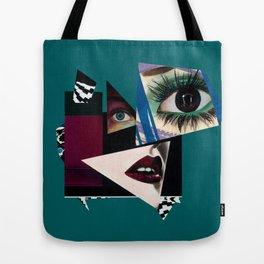 Ebony Fleece Tote Bag