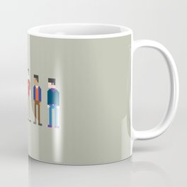 The Big Bang Theory 8-Bit Coffee Mug