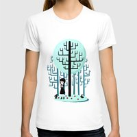 snow white T-shirts featuring Snow White by Freeminds