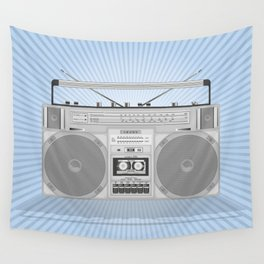Boombox Wall Tapestry
