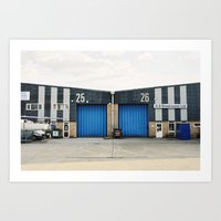 industrial Art Prints featuring Industrial by TomP