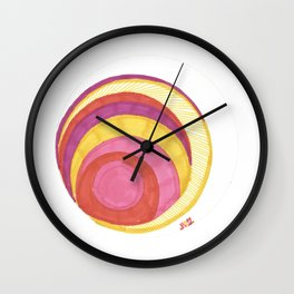 Cirque-Cle #6 Wall Clock