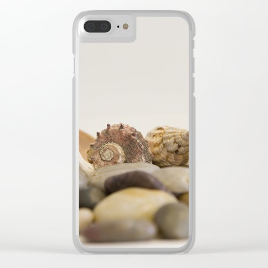 Seashells & Stones #1 #decor #art #society6 Clear iPhone Case