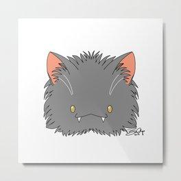 Spoopy Korat Kitty disguise! Metal Print