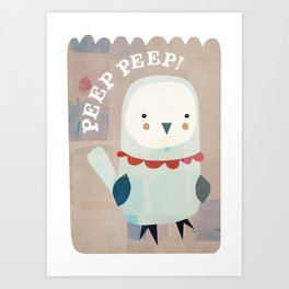 whats that peeper? Art Print