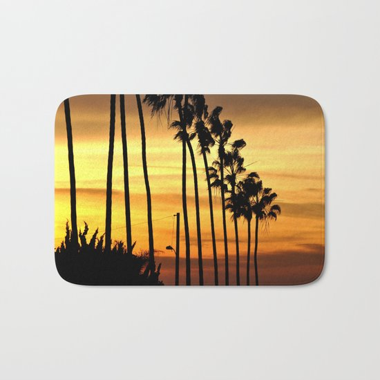 CALIFORNIA SUNSET Bath Mat