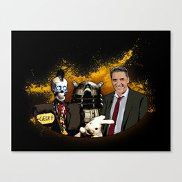 Craig Ferguson - It's A Good Day For America Everybody Canvas Print