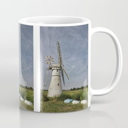 Thurne Dyke Mill and Boats Coffee Mug