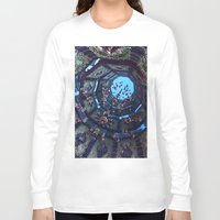 arabic Long Sleeve T-shirts featuring arabic fractal by erosione