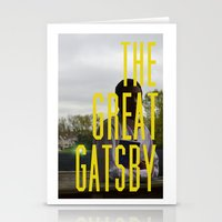 gatsby Stationery Cards featuring What Gatsby by Kaila D'Amato