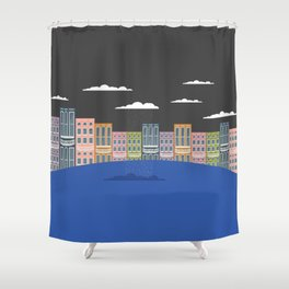 One Lone Cloud Shower Curtain