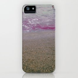 Into the Lilac Sea iPhone Case