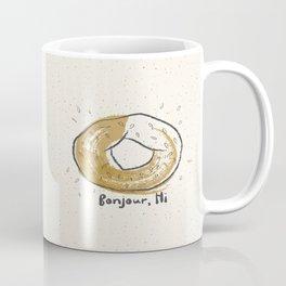 Bonjour, Hi Coffee Mug