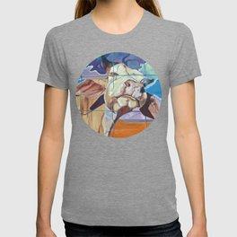 The Girl Next Door Cow Portrait T-shirt