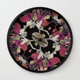 Floral Arabesque New Noveau Decorative Pattern Wall Clock