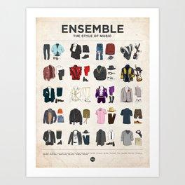 Ensemble Art Print