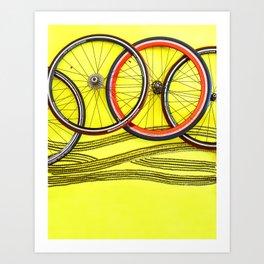 065: Pirelli - 100 Hoopties Art Print