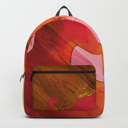 Independent Woman Sunset Backpack