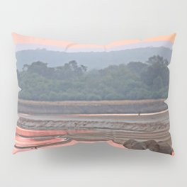 Walk in the evening light, Africa wildlife Pillow Sham