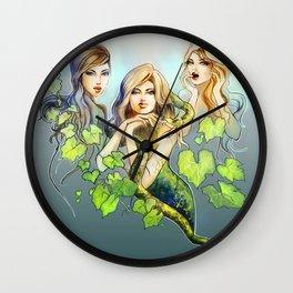 Garden of Eden Wall Clock