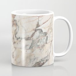 Polished Rose Marble Slab Coffee Mug