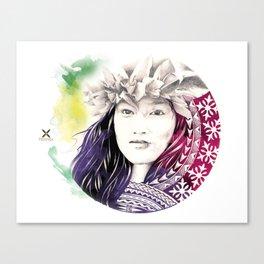 Puhi Hawaii Canvas Print