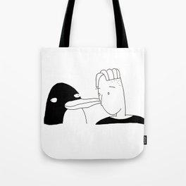 penguin pal Tote Bag