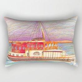 ferry boat Rectangular Pillow