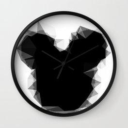 Abstract Mickey Wall Clock