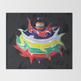 Tipsy-Topsy-Turvy Throw Blanket