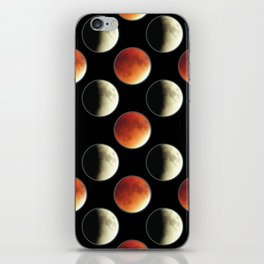 Blood Moon Eclipse iPhone Skin