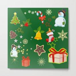 Merry Christmas 917 Metal Print
