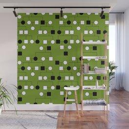 Pedigree Analysis - Autosomal Dominant Wall Mural