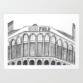Citi Field Art Print