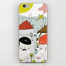 Je T'aime iPhone & iPod Skin