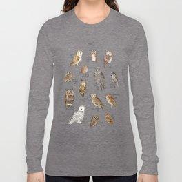Owls Long Sleeve T-shirt